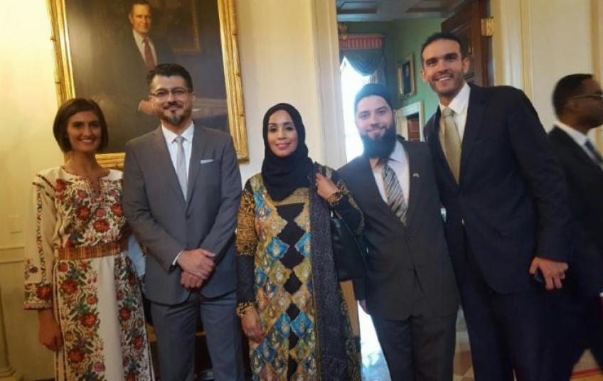 Image result for cair at the white house