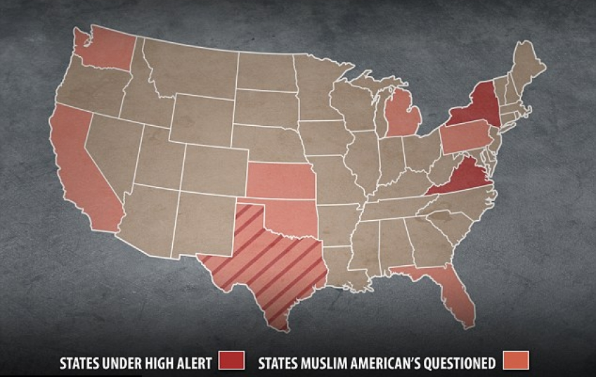 Cairflorida MuslimAmericans in eight states were questioned